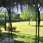Villa Les Cigales - Terrace & view on the estate