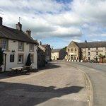The village pub on left where we went serves good pub food