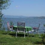 panorama in riva al lago