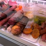 Some of the tasty cold meats