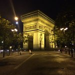 Our last night in Paris.  Took this picture walking back to our hotel