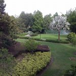 This is the Garden View from our room!