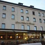 Front of Grand Hotel Vianden