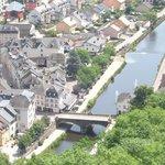 View of Vianden from Vianden Castle