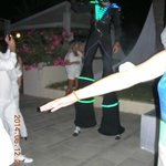 Boris en Alien iluminé  de 3 mètre de haut !!