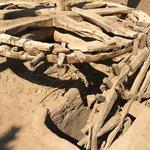 Старый механизм для набора воды в арык
