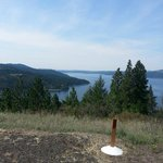 View from Carlin Bay, Harrison, Idaho