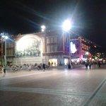 Sundance Square at night