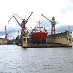 Floating Ship's dock