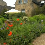 The lovely gardens at the Lamb