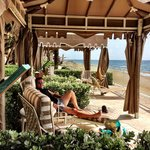cabanas by the sea