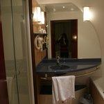 Vue de la salle de bains