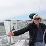 Fun day on Captain Chuck;s sailboat