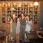 Aussie friends catching up abroad!