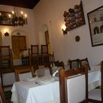 inside view of restaurant, to front