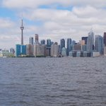View of Toronto from Island park
