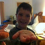 Great memory moment - loss of the first tooth!