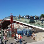 bridge at piazzale Roma to Santa Lucia train station
