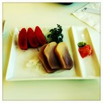 Sushi Appetizer - Wild Salmon and Tuna