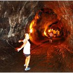 The Thurston Lava Tube is across the street from the counter-clockwise exit of the Kilauea Iki t