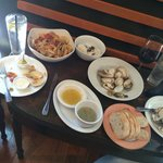 Seafood heaven.