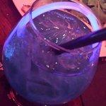 The signature Blue Martini!