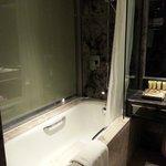 Very clean bath room