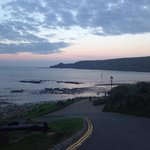 Peaceful evening in runswick bay
