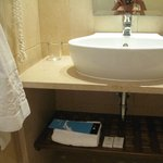 sink at the double room