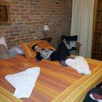 cama muy comoda