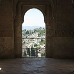 View of Granada from Generalife
