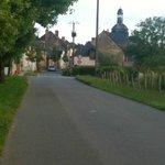Livre la touche - the small village in the Pays de la Loire region.