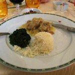 The evening dinner