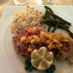 Mahi mahi and macadamia - excellent combination
