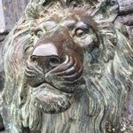 Guardian Lion at the front door.
