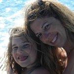Giorgia con la mamma