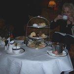 Personal tea at Dromoland