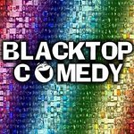 Blacktop Comedy logo.