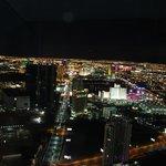 Vegas at night time