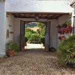 Cortijo entrance