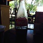 Coke in a glass bottle