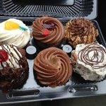 Pudge Cake assortment