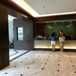 Lobby during check-out