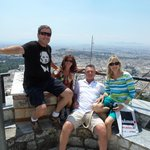 Top of the hill overlooking Athens