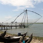 chinese fishing nets in Kochi Fort