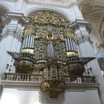 Massive pipe organ 1 of 2.