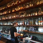 The Spoon Bar has a fabulous collection of booze