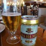 Primer contacto con cerveza local :)