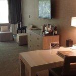 TV, Cabinet & Writing Desk