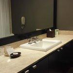 Bath Sink & Spacious Counter